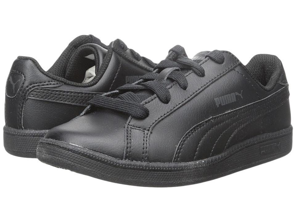 Puma Kids Smash FUN L Jr (Little Kid/Big Kid) (Black/Black) Boys Shoes
