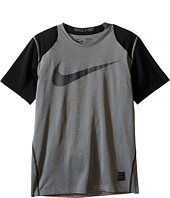 Nike Kids - Hypercool Fitted GFX Short Sleeve (Little Kids/Big Kids)