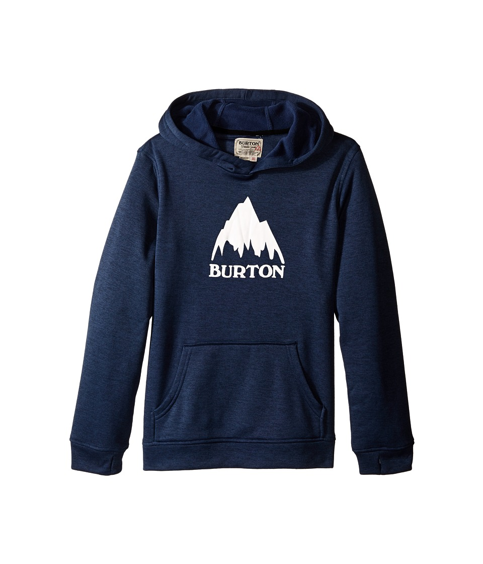 Burton Kids Oak Pullover Hoodie Little Kids/Big Kids Eclipse Heather Boys Sweatshirt