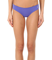 Emporio Armani - Jewel Studded Cotton Stretch Brasilian Brief