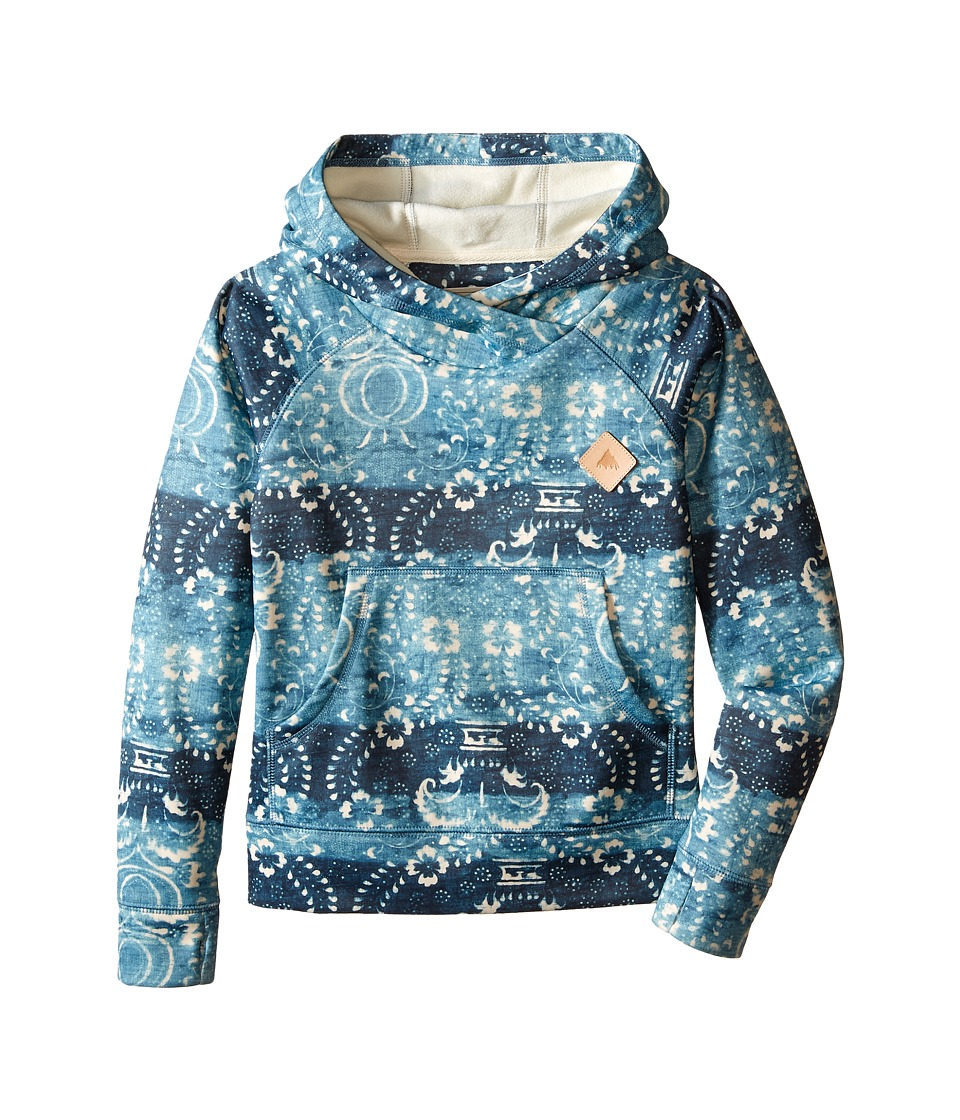 Burton Kids Heron Pullover Hoodie Little Kids/Big Kids Hokkaido Stripe Girls Sweatshirt