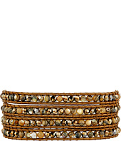 Chan Luu - 32' Abalone Mix Crystal Wrap Bracelet