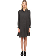 McQ - Long Sleeve Volume Shirtdress