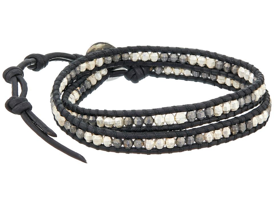 Chan Luu 13 Nugget/Natural Black Wrap Bracelet Natural Black Bracelet