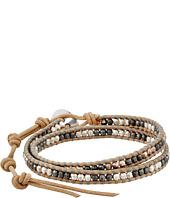 Chan Luu - 13' Nugget/Beige Double Wrap Bracelet