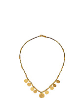 Chan Luu - 17' Gold Toned Charm Necklace