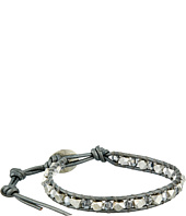 Chan Luu - 6' Crystal Cal/Grey Crystal Single Bracelet