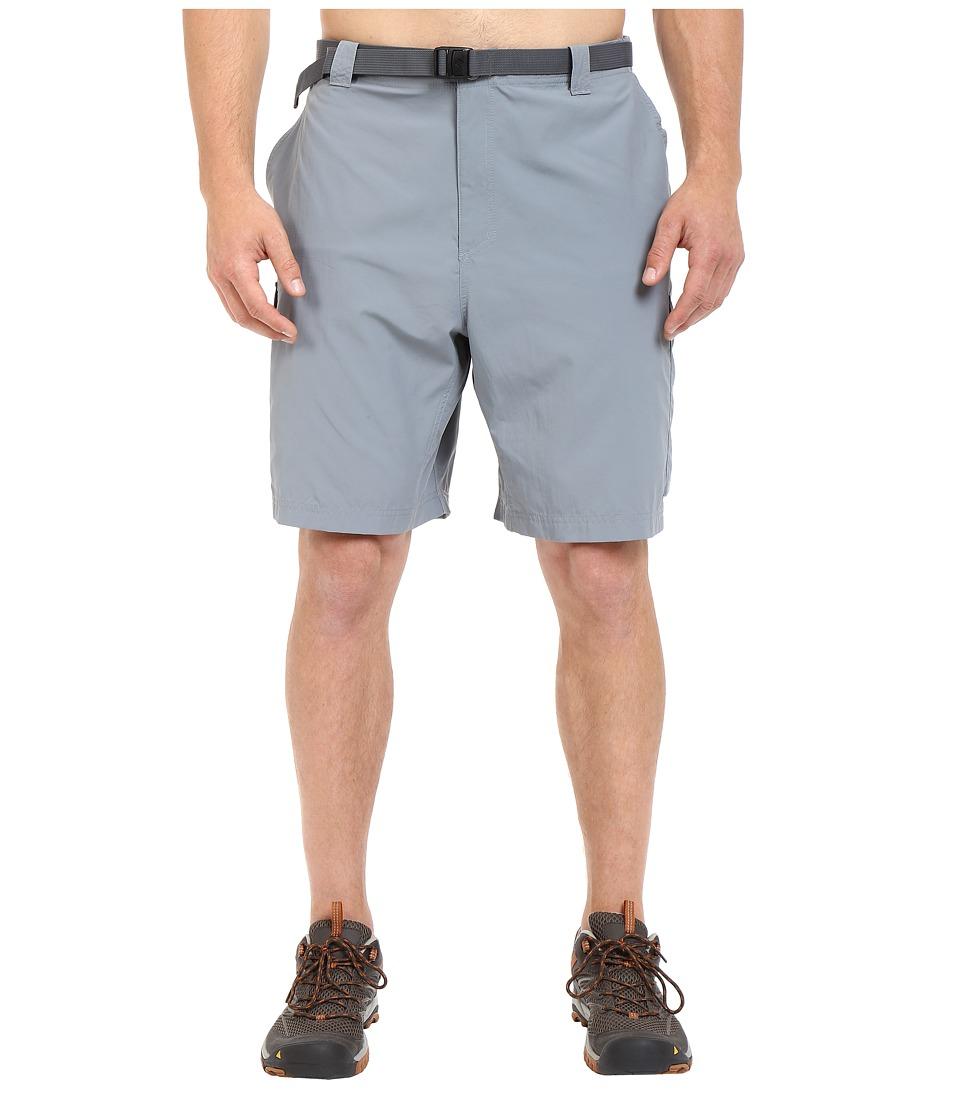 Columbia Big Tall Silver Ridge Cargo Short (42-54) (Grey Ash) Men
