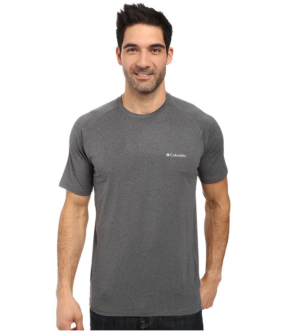 Columbia Tuk Mountain Short Sleeve Shirt (Graphite Heather) Men
