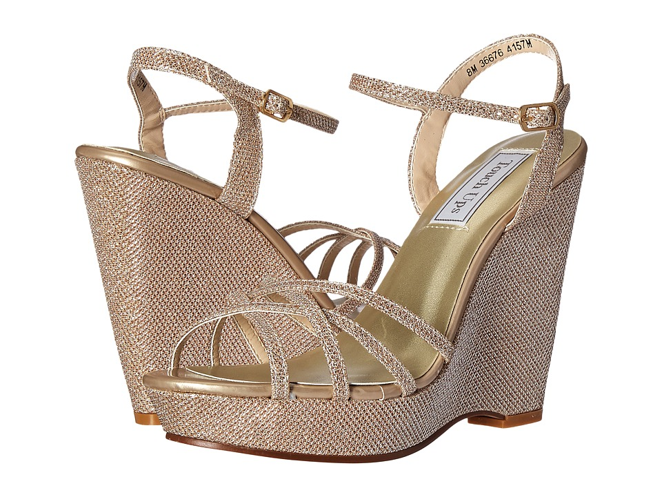 Touch Ups Jaden Champagne Shimmer Womens Shoes