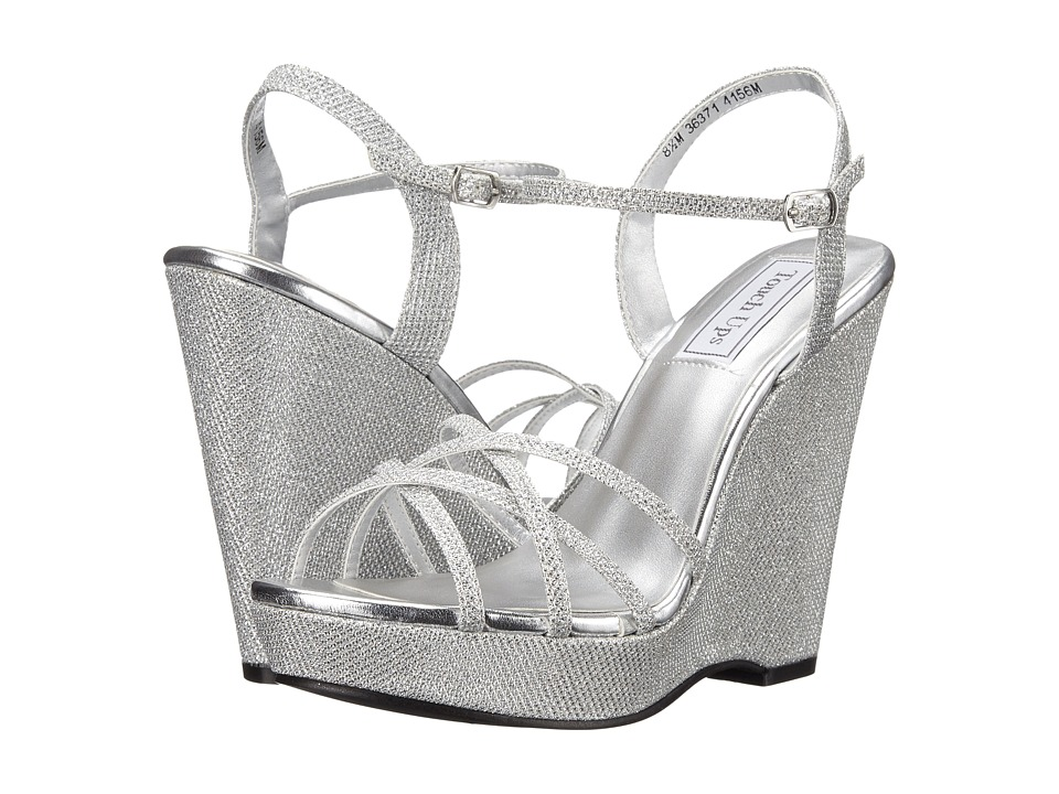 Touch Ups Jaden Silver Shimmer Womens Shoes