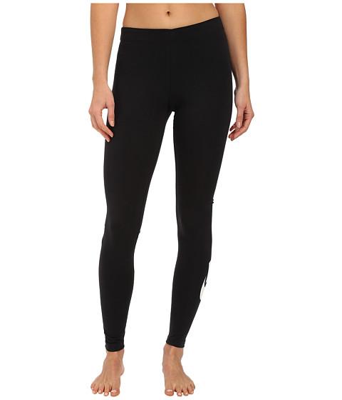 Nike Leg A See Leggings à logo virgule Noir
