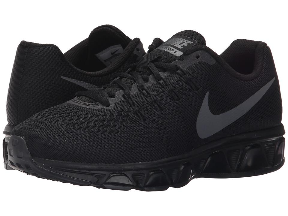Nike Air Max Tailwind 8 Black/Dark Grey Womens Running Shoes