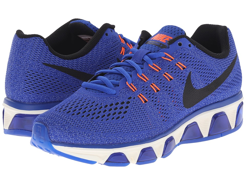 Nike - Air Max Tailwind 8 (Racer Blue/Chalk Blue/Hyper Orange/Black) Womens Running Shoes