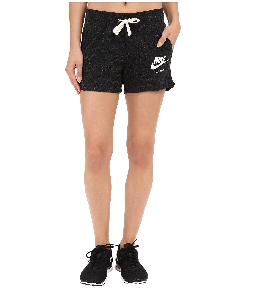 Nike Gym Vintage Shorts (Black/Sail) Women