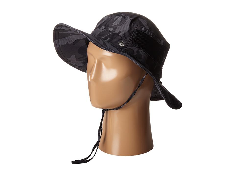Columbia Bora Bora Print Booney Black Camo Bucket Caps