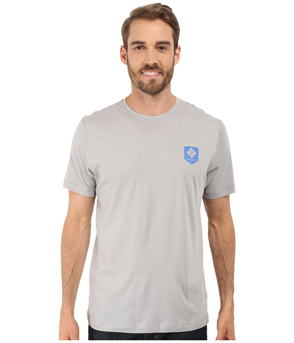 Columbia - National Parks Tee (Grey Heather/All Parks) Men