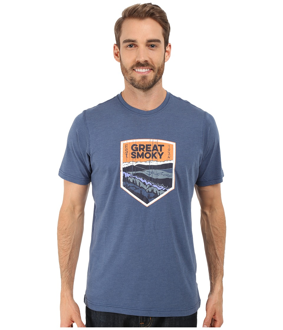 Columbia - National Parks Tee (Night Tide Heather/Great Smoky) Men