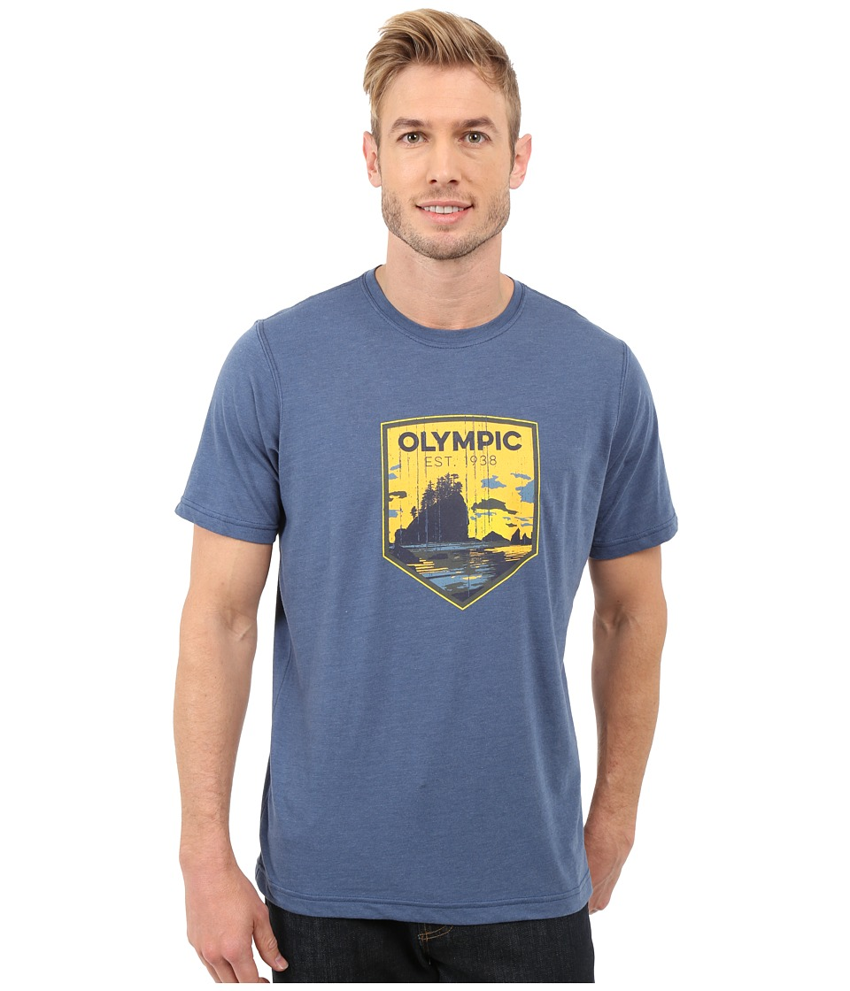 Columbia - National Parks Tee (Night Tide Heather/Olympic) Men