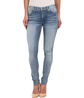 True Religion - Mid Rise Halle w/ Raw Hem in Sea Glass Clean