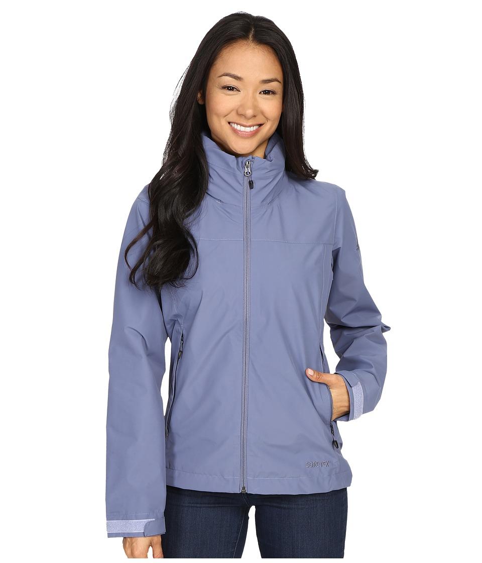 adidas Outdoor All Outdoor 2L GORE TEX Wandertag Jacket Super Purple Womens Coat