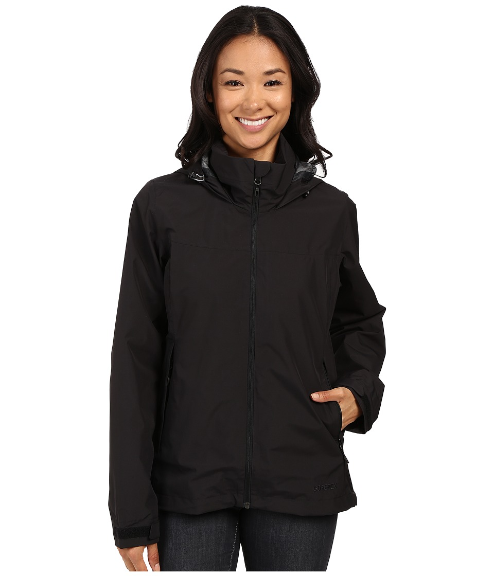 adidas Outdoor - All Outdoor 2L GORE-TEX(r) Wandertag Jacket (Black) Womens Coat