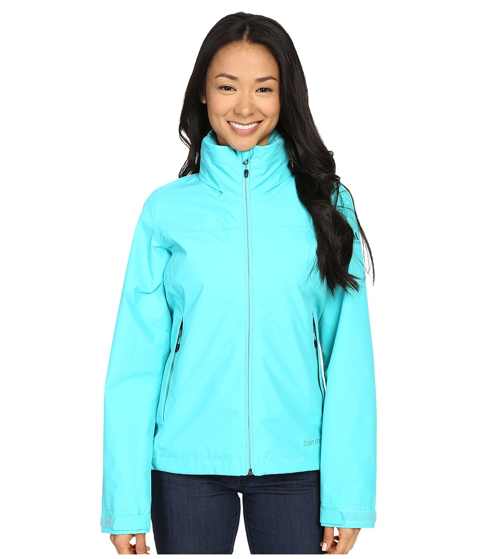 adidas Outdoor All Outdoor 2L GORE TEX Wandertag Jacket Vivid Mint Womens Coat