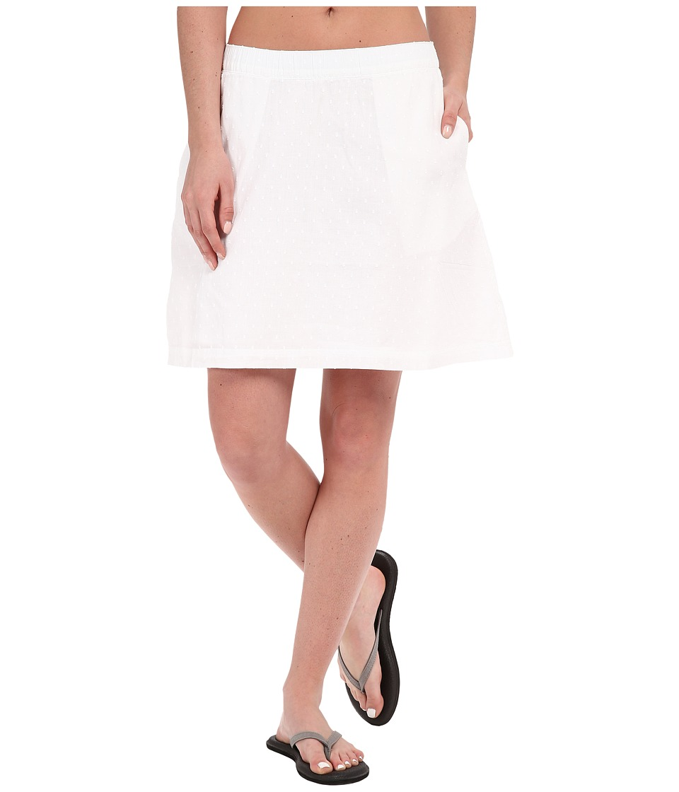 Columbia - Sun Driftertm Skirt (White Swiss Dot) Womens Skirt