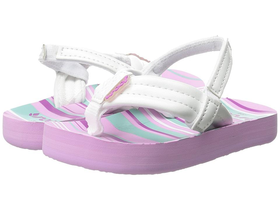 Reef Kids Little Ahi Toddler/Little Kid/Big Kid Purple Multi Girls Shoes