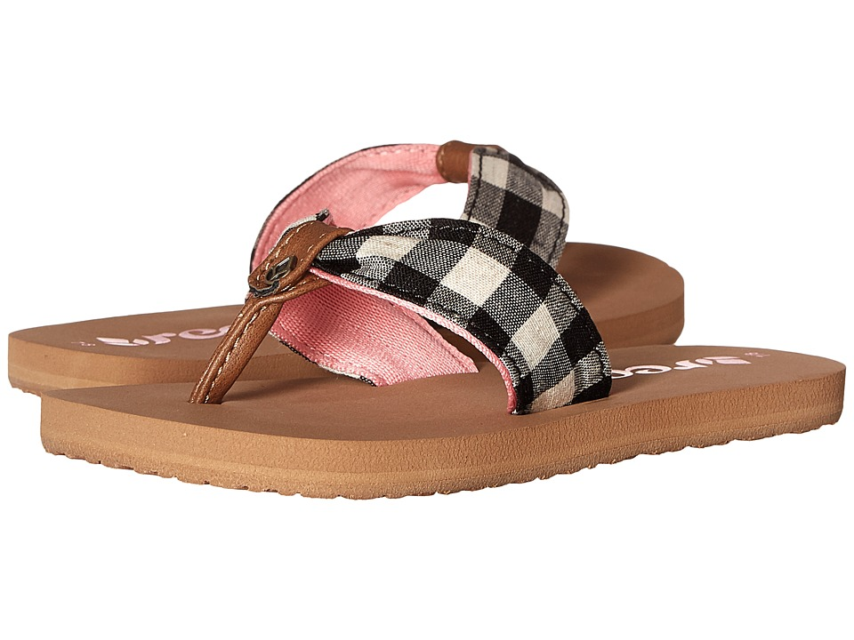 Reef Kids Little Reef Scrunch TX Infant/Toddler/Little Kid/Big Kid Plaid Girls Shoes