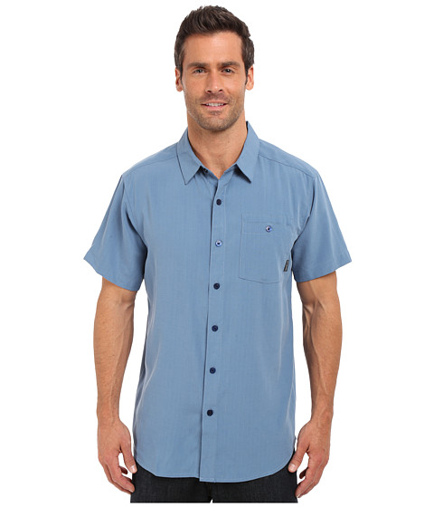 Columbia Mossy Trail™ S/S Shirt - Steel Slub