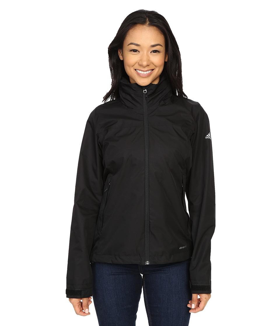 adidas Outdoor All Outdoor 2L Wandertag Solid Jacket Black Womens Coat