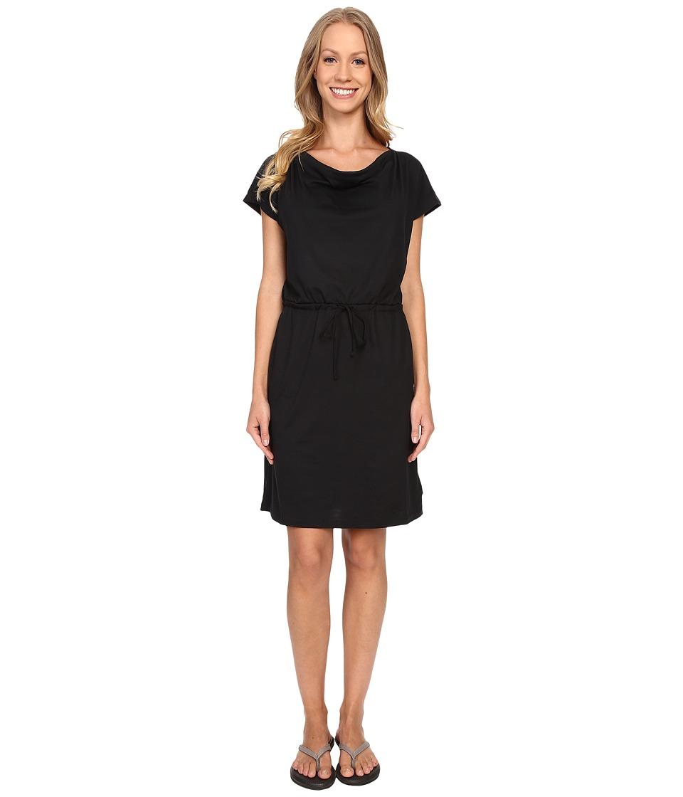 Mountain Hardwear DrySpun Perfect Tee Dress Black Womens Dress