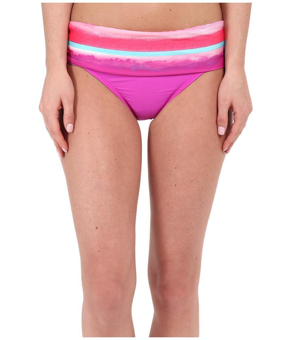 Athena Bermuda Sunrise Banded Pant Multi Womens Swimwear
