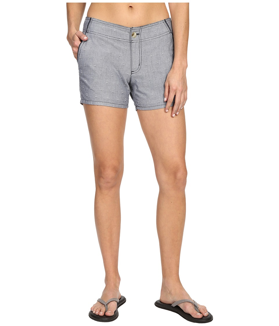 Columbia Solar Fade Short Collegiate Navy/White Anchors Womens Shorts