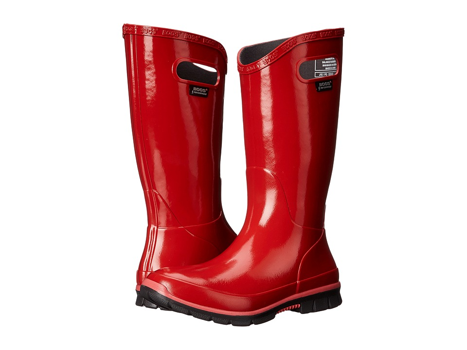 Bogs Berkley Red Womens Rain Boots