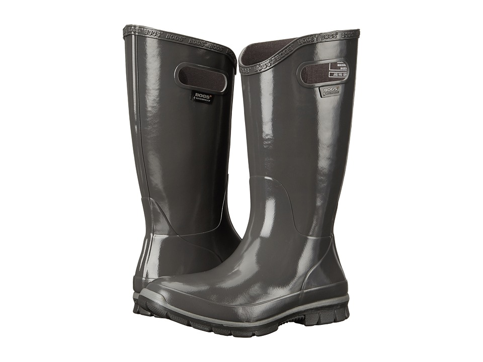 Bogs Berkley Gray Womens Rain Boots