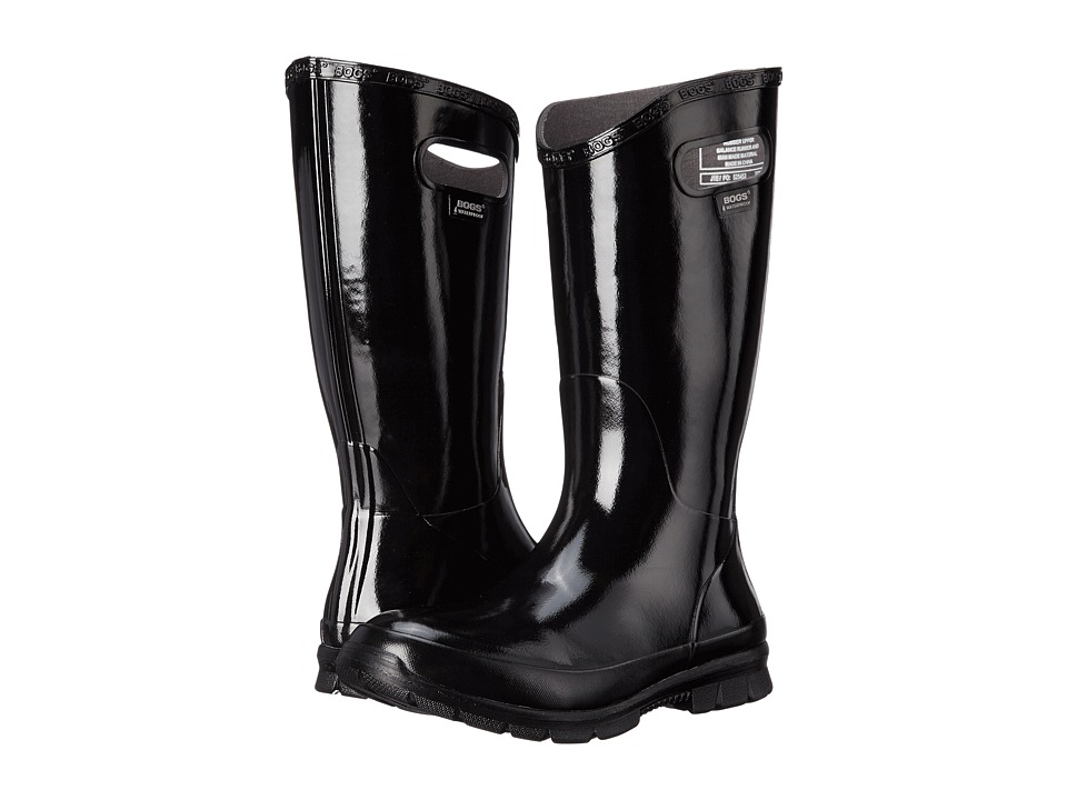 Bogs Berkley Black Womens Rain Boots
