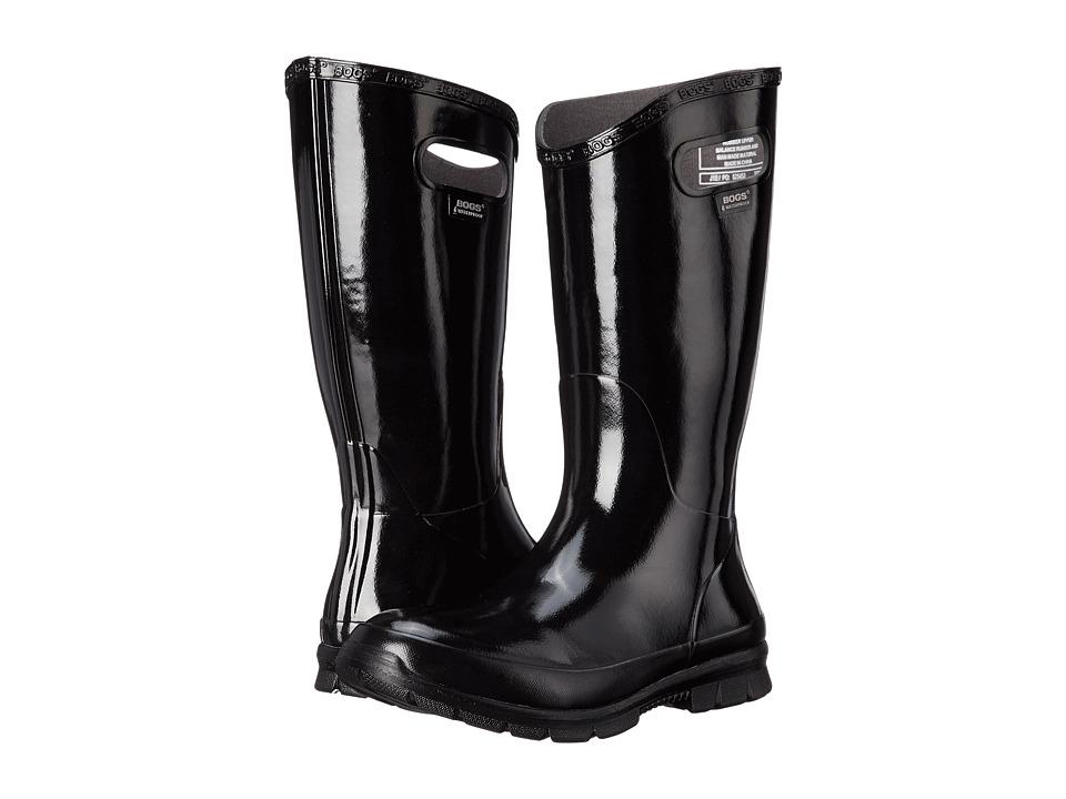 Bogs Berkeley (Black) Women's Rain Boots