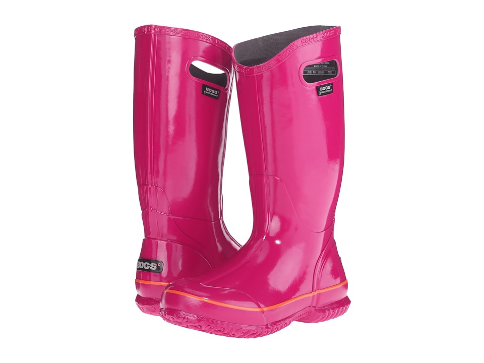 Bogs Classic Glosh Rainboot Berry Womens Rain Boots