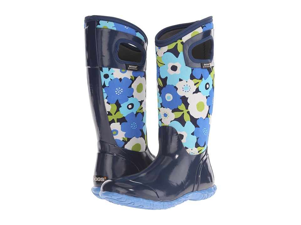 Bogs North Hampton Spring Flowers (Navy Multi) Women