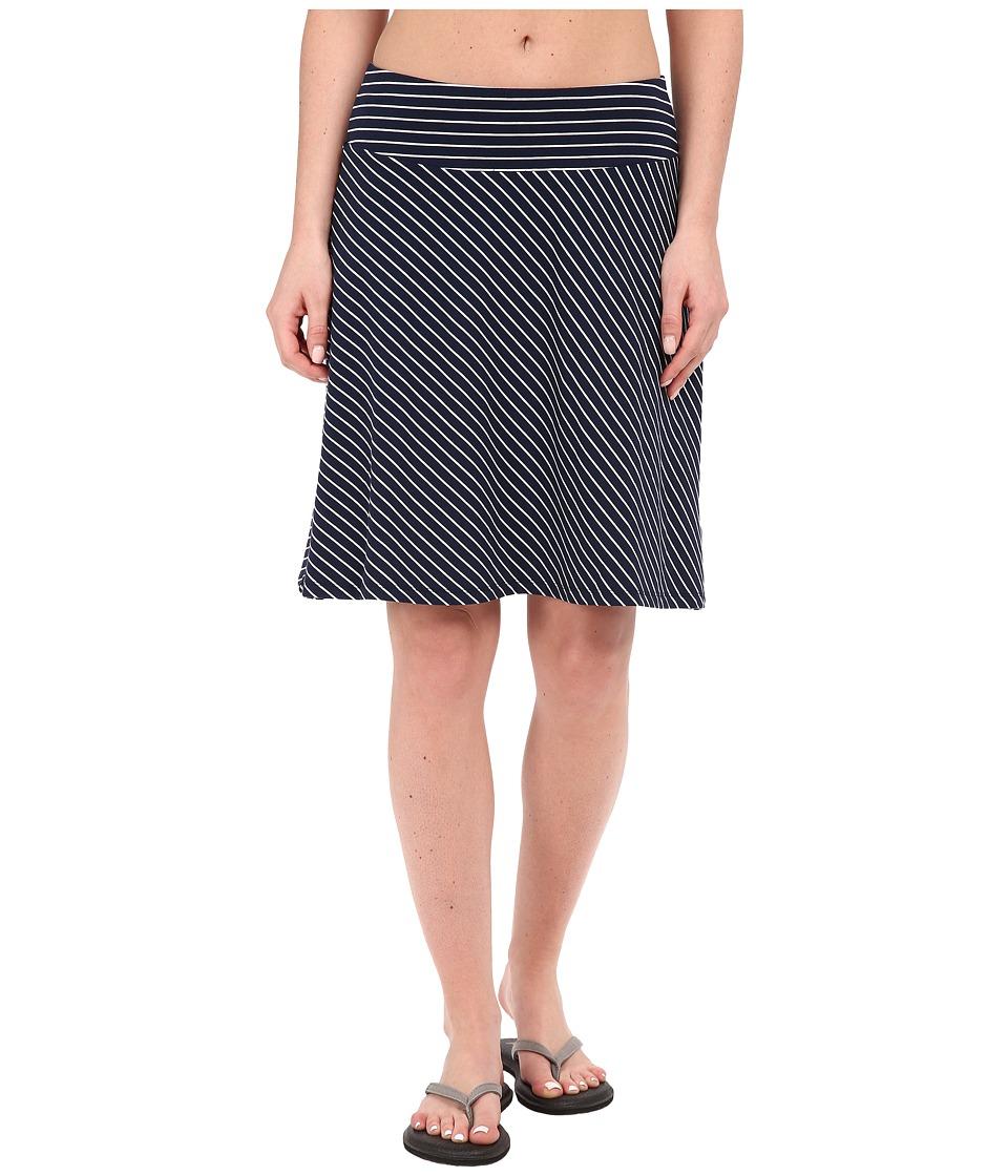 Columbia Reel Beautytm III Skirt (Collegiate Navy Mini Stripe) Women