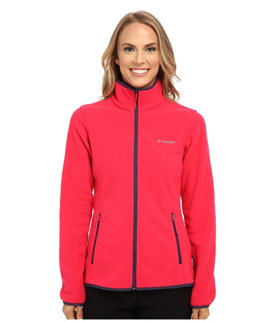 Columbia - Fuller Ridge Fleece Jacket (Ruby Red Nocturnal) Women