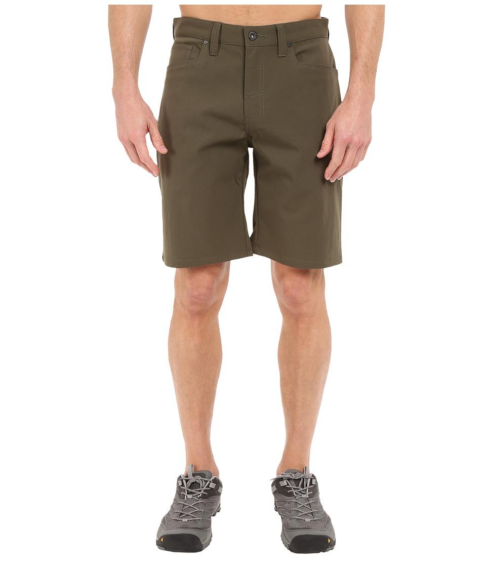 Mountain Hardwear Piero Utility Shorts (Peatmoss) Men