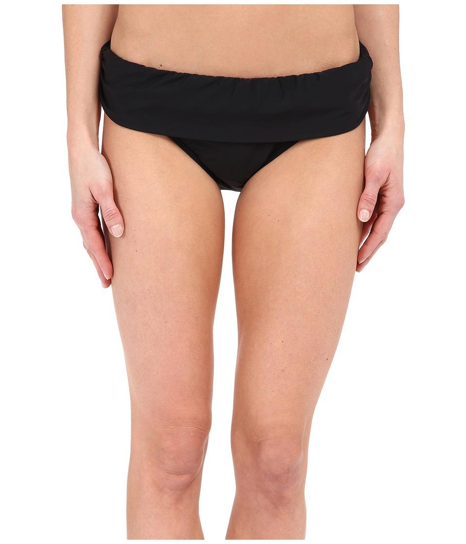 Athena Cabana Solids Banded Pant Black Womens Swimwear