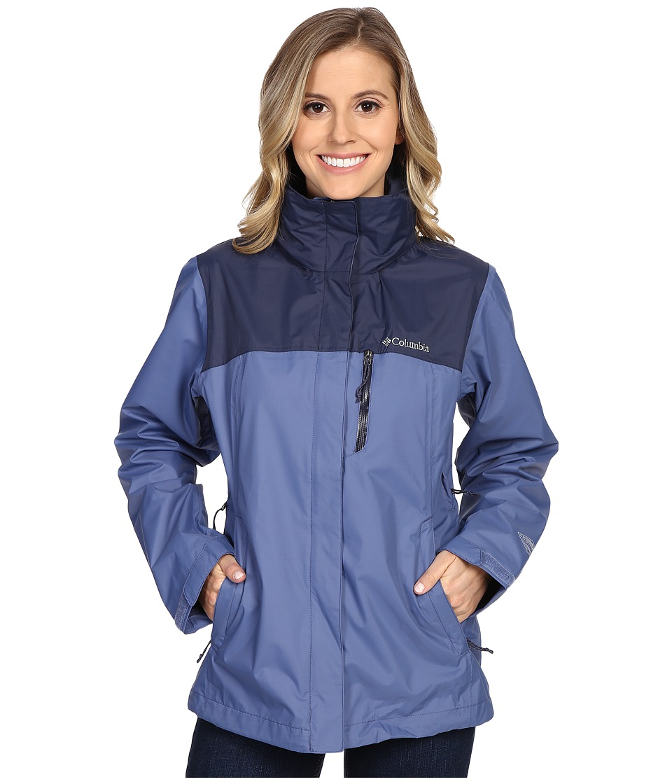 Columbia Pouration Jacket (Bluebell/Nocturnal) Women