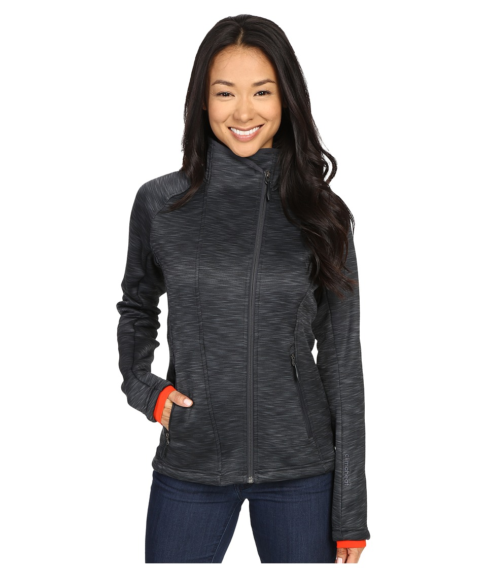 adidas Outdoor - All Outdoor Climaheat Fleece Jacket (Heat Dark Grey Mel) Women