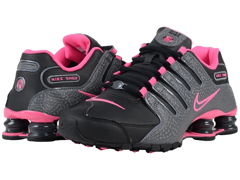 nike shox black and pink