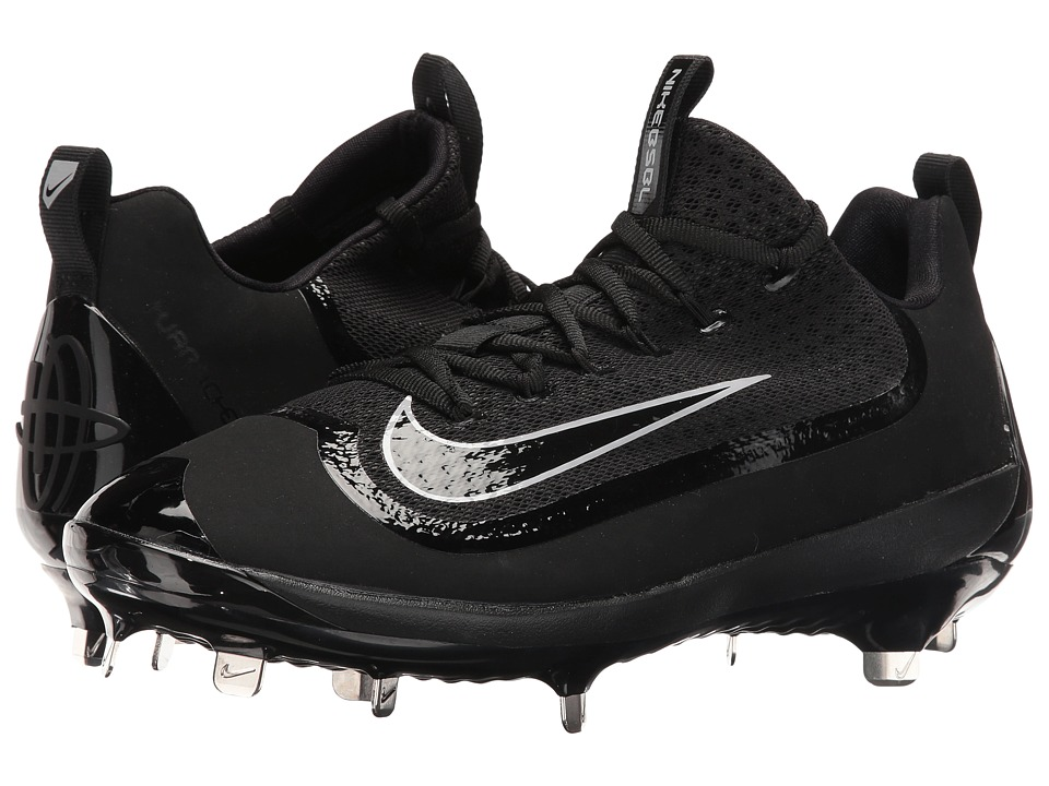 Nike - Air Huarache 2KFilth Elite Low (Black/Wolf Grey/Black) Mens Cleated Shoes