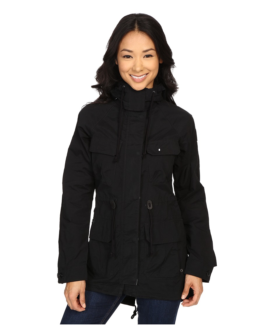 Columbia Tillicum Bridge Long Jacket Black Womens Coat